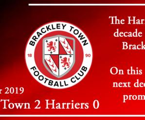 28-12-19 – Report – Brackley Town 2 Kidderminster Harriers 0