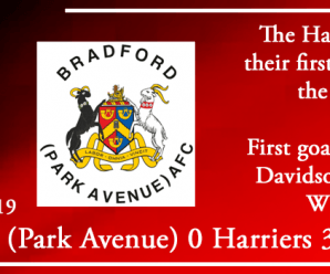 10-08-19 – Report – Bradford (Park Avenue) AFC 0 Kidderminster Harriers 3