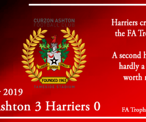 23-11-19 – Report – Curzon Ashton 3 Kidderminster Harriers 0