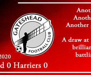 15-02-20 – Report – Gateshead 0 Kidderminster Harriers 0