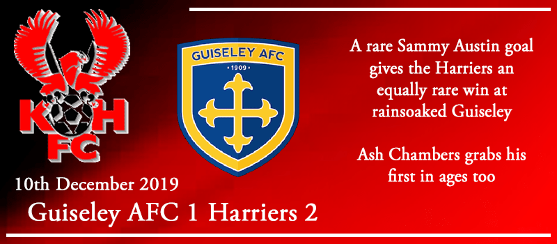 10-12-19 - Report - Guiseley AFC 1 Kidderminster Harriers 2