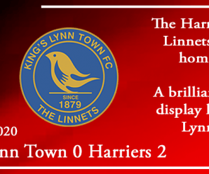 01-02-20 – Report – Kings Lynn Town 0 Kidderminster Harriers 2