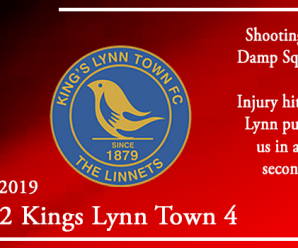 05-11-19 – Report – Kidderminster Harriers 2 Kings Lynn Town 4