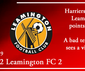 03-08-19 – Report – Kidderminster Harriers 2 Leamington FC 2