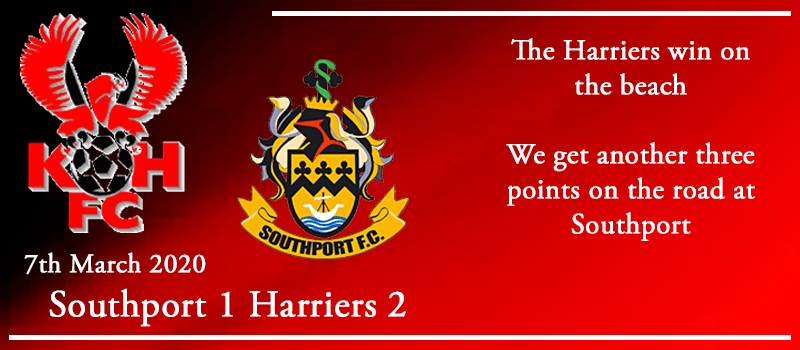 07-03-20 - Report - Southport 1 Kidderminster Harriers 2
