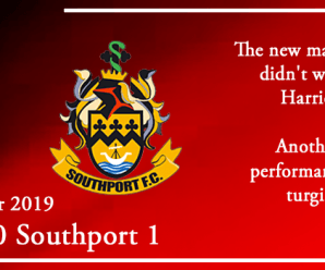 30-11-19 – Report – Kidderminster Harriers 0 Southport 1