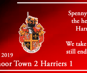 28-09-19 – Report – Spennymoor Town 2 Kidderminster Harriers 1