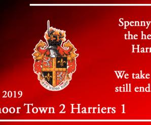 28-09-19 – Report – Spennymoor Town 2 Kidderminster Harriers 1