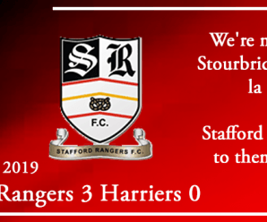 24-09-19 – Report – FA Cup 2nd Qual Rd replay – Stafford Rangers 3 Kidderminster Harriers 0