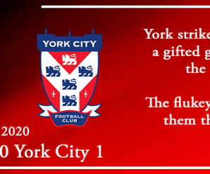 22-02-20 – Report – Kidderminster Harriers 0 York City 1