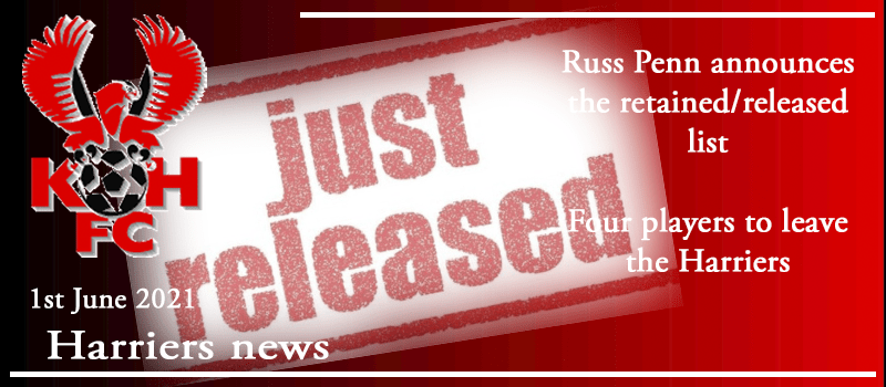 Russ Penn announces the retained/released list