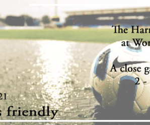 03-08-21 – Friendly – The Harriers kids lose at Worcester City