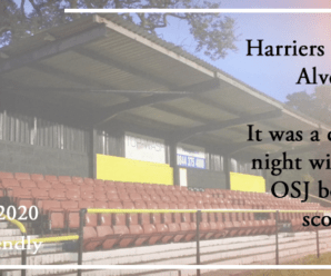 08-09-20 – Friendly – Harriers strike four at Alvechurch