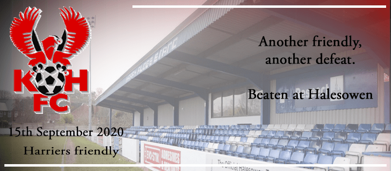 15-09-20 – Friendly – Another friendly, another defeat