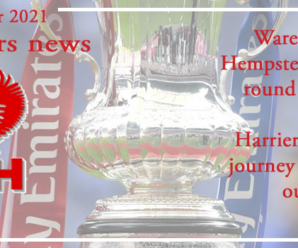 20-09-21 – News – Ware or Hemel in the next round of the Cup