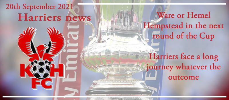 20-09-21 - News - Ware or Hemel in the next round of the Cup