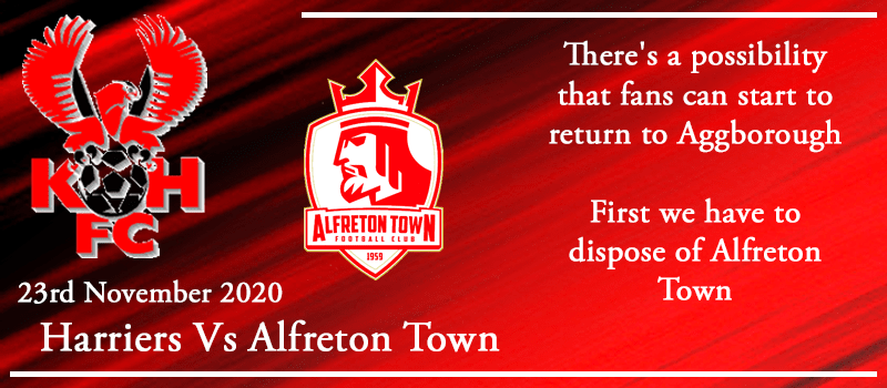 23-11-20 - Preview - Kidderminster Harriers Vs Alfreton Town