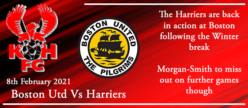 08-02-21 - Preview - Boston Utd Vs Kidderminster Harriers