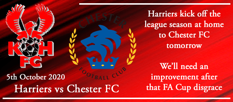 05-10-20 - Preview - Kidderminster Harriers Vs Chester FC