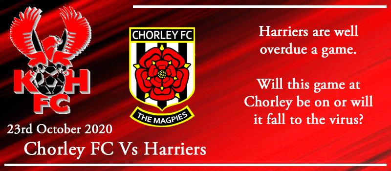 23-10-20 - Preview - Chorley FC Vs Kidderminster Harriers