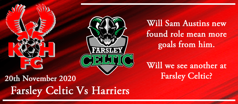20-11-20 - Preview - Farsley Celtic FC Vs Kidderminster Harriers
