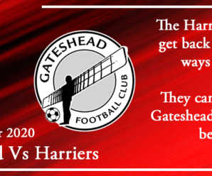 11-12-20 – Preview – Gateshead Vs Kidderminster Harriers
