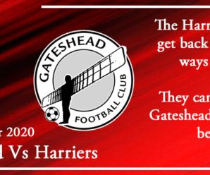 11-12-20 – Preview – Gateshead Vs Kidderminster Harriers