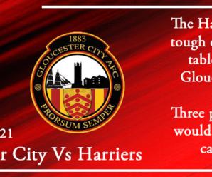 08-01-21 – Preview – Gloucester City Vs Kidderminster Harriers