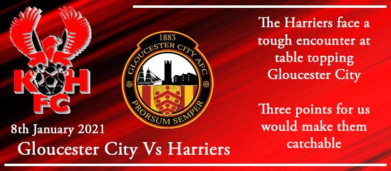 08-01-21 - Preview - Gloucester City Vs Kidderminster Harriers