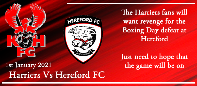 01-01-21 - Preview - Kidderminster Harriers Vs Hereford FC