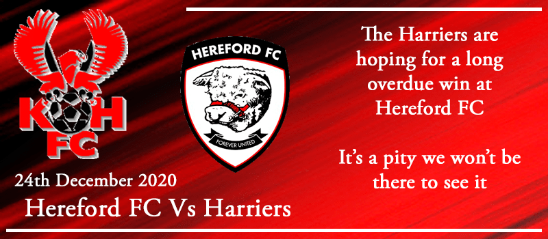 24-12-20 - Preview - Hereford FC Vs Kidderminster Harriers