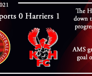 16-10-21 – Report – FA Cup 4th Qual Rd – Bedfont Sports FC 0 Kidderminster Harriers 1