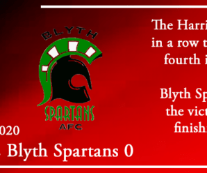 31-10-20 – Report – Kidderminster Harriers 2 Blyth Spartans 0