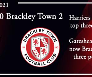 09-10-21 – Report – Kidderminster Harriers 0 Brackley Town 2