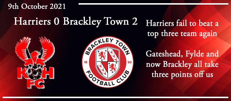 09-10-21 - Report - Kidderminster Harriers 0 Brackley Town 2