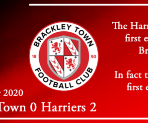 17-11-20 – Report – Brackley Town 0 Kidderminster Harriers 2
