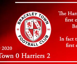 17-11-20 – Report – Brackley Town 0 Kidderminster Harriers 2
