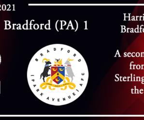 23-10-21 – Report – Kidderminster Harriers 5 Bradford (Park Avenue) AFC 1
