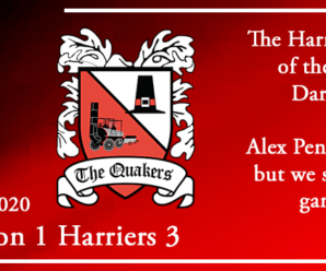 10-10-20 – Report – Darlington FC 1 Kidderminster Harriers 3