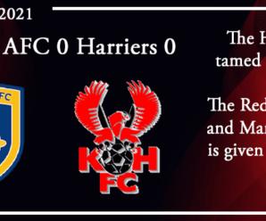 04-09-21 – Report – Guiseley AFC 0 Kidderminster Harriers 0