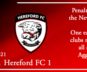02-01-21 – Report – Kidderminster Harriers 1 Hereford FC 1