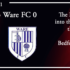05-10-21 – Report – FA Cup 3rd Qual Rd replay – Kidderminster Harriers 3 Ware FC 0